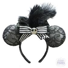 halloween headbands disney parks jack skellington minnie ears headband nightmare