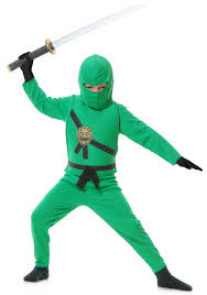 domo halloween costume child green ninja costume halloween costumes