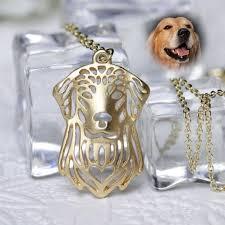gold dog pendant necklace images Golive love rescue hollow gold paw pendant necklace dog jewelry png
