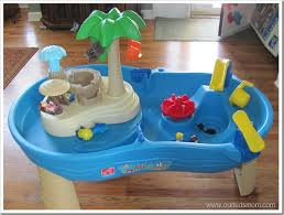 Water Table Toddler Win Step2 Tropical Island Resort Water Table Review Giveaway