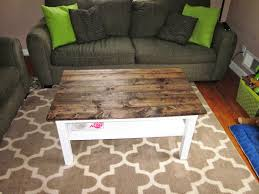 it u0027s a long story coffee table makeover wood plank table top