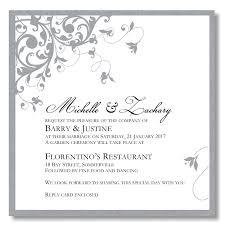 silver wedding invitations 25th wedding invitations yourweek b52231eca25e