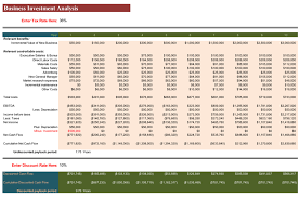 Excel Template For Financial Analysis Investment Financial Analysis Templates For Excel