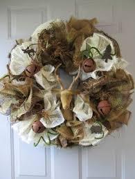 deco paper mesh fishing wreath beautiful wreaths wreaths