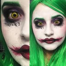 joker halloween makeup lentilles loup garou youtube