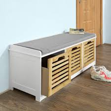 gls modern shoe bench storage ottoman review and comparison photo