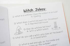 the teacher wife halloween joke book freebie