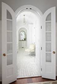 Shower Bifold Door Master Bathroom With Arched Bi Fold Doors Transitional Bathroom
