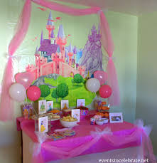 Disney Princess Room Decor Disney Princess Birthday Ideas Food Decorations Events