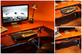 Computer Desk With Adjustable Keyboard Tray Ergonomic Keyboard Tray Http Www Simplifiedbuilding Diy