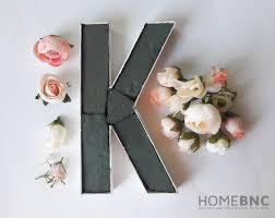 blooming diy monogram u2014 homebnc