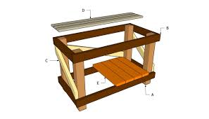 diy workbench plans myoutdoorplans free woodworking plans and