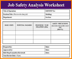 3 job safety analysis example mileage tracker form