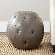 ottomans diy pouf cocktail round ottoman coffee table with