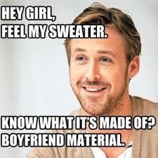 Knitting Meme - ryan gosling reveals his love of knitting