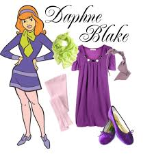 Scooby Doo Gang Halloween Costumes Scooby Doo Daphne Created Marylily Polyvore Ellen