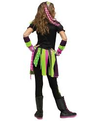 neon hipster zombie girls costume girls costume