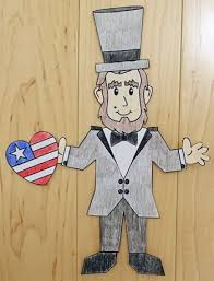 abraham lincoln paper craft