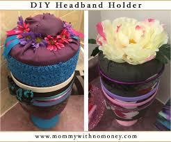 headband holder d i y headband holder