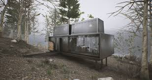 house ex machina vipp shelter unreal luxury camping vr environment unreal