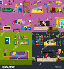 furniture shop super salegraphic concept home stock vector