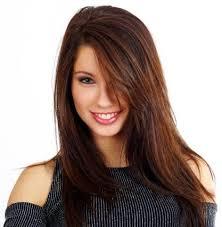 partial red highlights on dark brown hair dark brown hair with dark red highlights dark red highlights