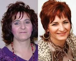 hair makeovers for women over 40 229 best makeovers images on pinterest hairdos short hairstyle