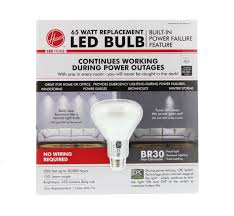 Led Versus Fluorescent Light Bulbs by Hoover Cpc Br30 65 Watt Replacement Led Power Failure Lightbulb