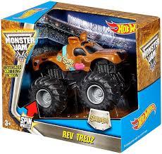 wheels monster truck jam wheels monster jam 25 rev tredz scooby doo 143 vehicle mattel