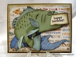 creations by patti bass fishing b day card