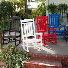 All Weather Rocking Chair Furniture Marvellous Polywood Presidential Recycled Plastic