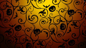 halloween wallpaper pattern 44556 black halloween pattern 3840 2160 holiday wallpaper