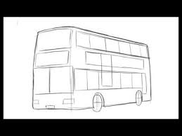 how to draw a bus youtube