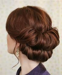 Kurzhaarfrisuren Hochstecken by Mahagoni Haarfarbe Haare Hochstecken Frisuren
