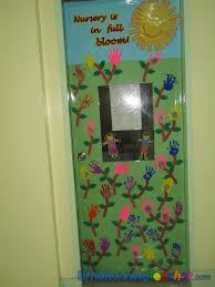 classroom door decor little running teacher
