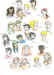 percy jackson characters by drhackey on deviantart