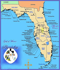 map of west coast of florida cities of gulf beaches florida point west biloxi and