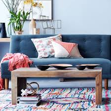 Futon Coffee Table Emmerson Reclaimed Wood Coffee Table West Elm