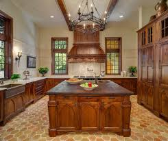 english style kitchen traditional with backsplash wall and floor