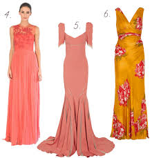 bright spark coloured wedding dresses onefabday com