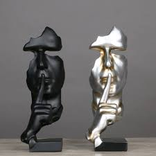 Decorative Sculptures For The Home Resin Abstract Craft Figurines Decorative Sculptures