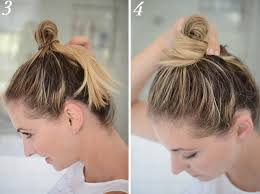 easy messy buns for shoulder length hair extremely remarkable tips on easy messy bun for medium hair