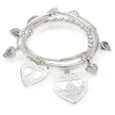 bracelet sets sterling silver charm bracelet sets