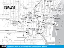 Map Of South Beach Miami by Printable Travel Maps Of Wisconsin Moon Travel Guides