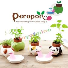 Self Watering Online Shop Cute Ceramic Cultivation Peropon Drinking Animal