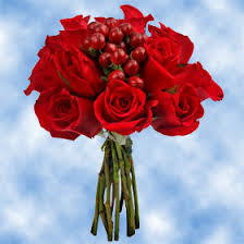 Global Roses Wedding Flowers Centerpieces Red Centerpieces Roses U0026 Hypericum