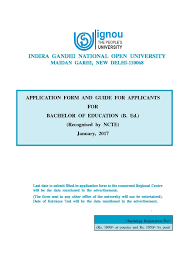 indira gandhi national open university ignou new delhi