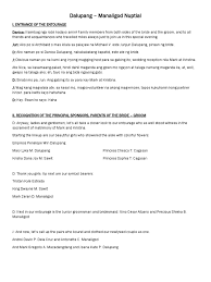 Wedding Reception Program Sample 100 Wedding Program Wording Examples 100 Program Templates