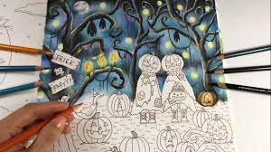 the halloween part 1 romantic country the third tale coloring