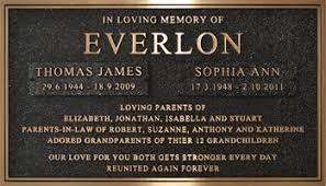 bronze memorial plaques cast bronze plaques cremation plaques burial plaques